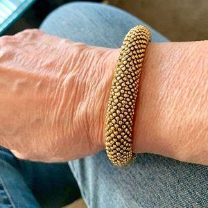 magnetic Clasp Closure Goldtone Bracelet
